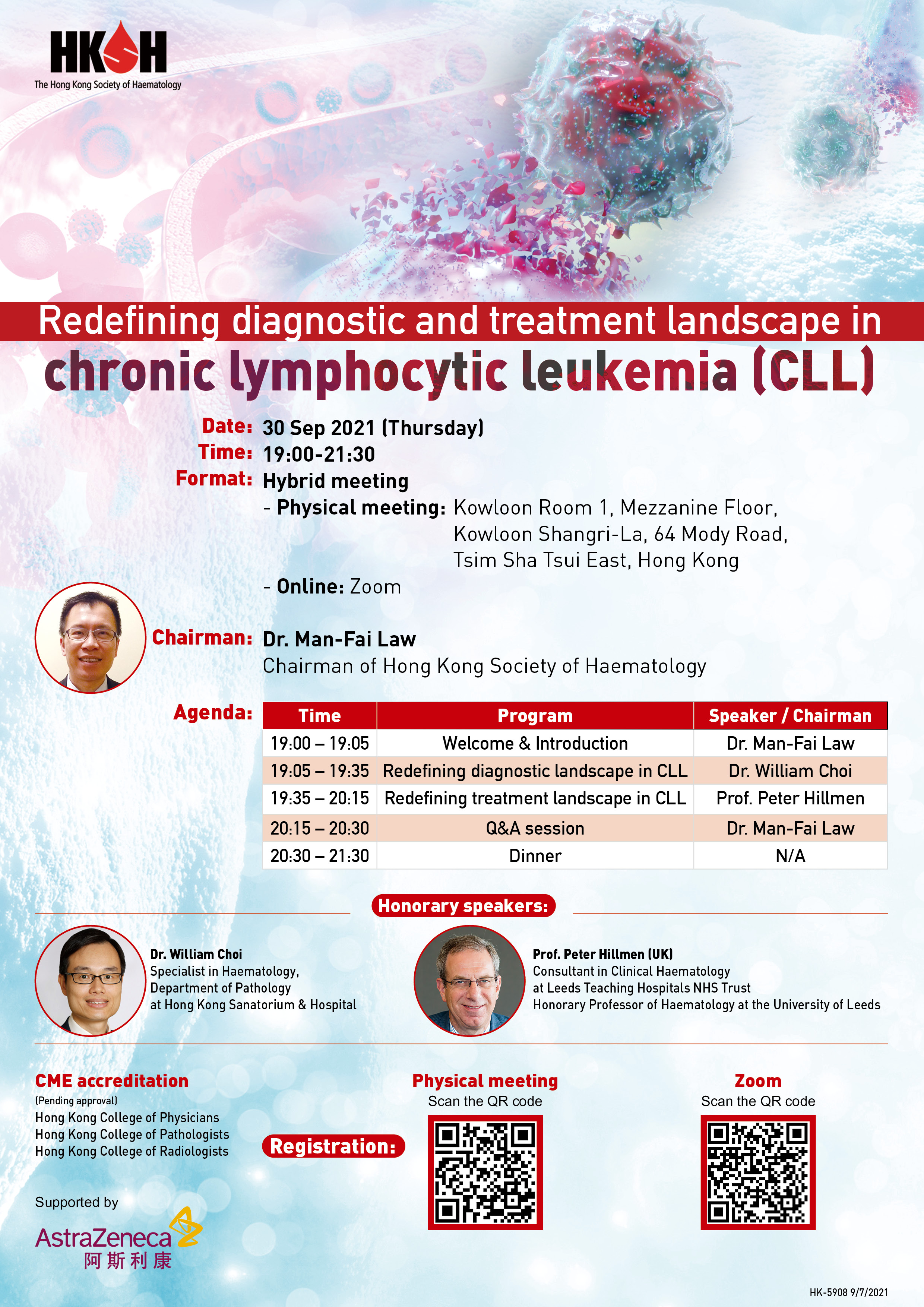 Redefining Diagnostic and Treatment Landscape in CLL, 30 Sep