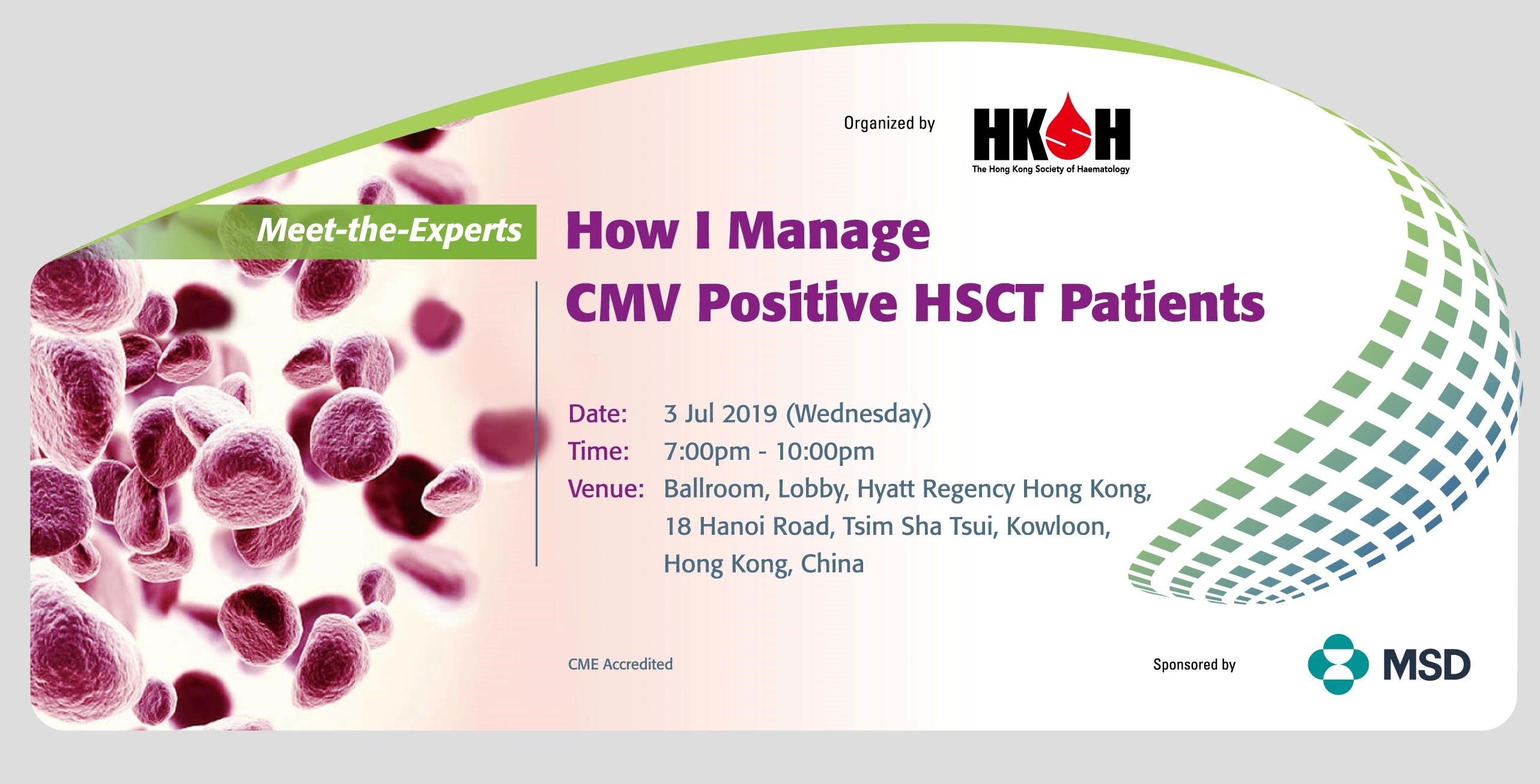 Meet-the-Experts: How I Manage CMV Positive HSCT Patients