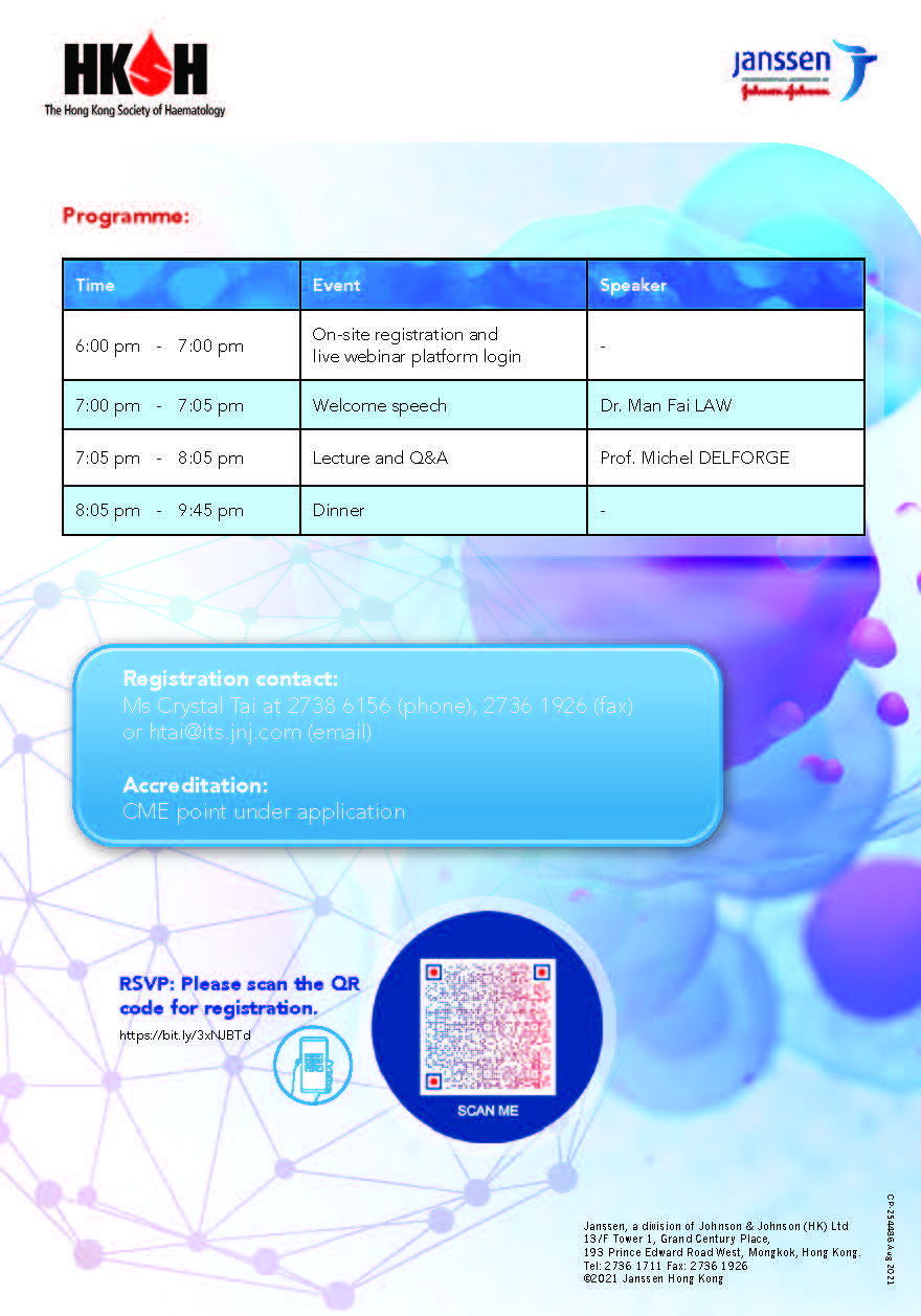 Lecture on Myeloma, 14 Sep 2021